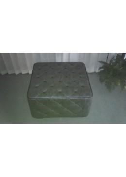 Pouf VERA PELLE - Materassi Bed Services - Produzione su misura